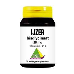 SNP IJzer bisglycinaat 28mg (60 capsules)