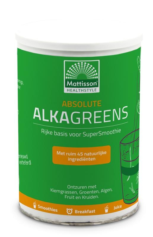 Mattisson Mattisson Absolute AlkaGreens poeder (300 gram)