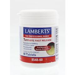 Lamberts Curcuma fast release (Turmeric) (60 tabletten)