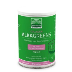 Mattisson Collagen collageen AlkaGreens poeder (300 gram)