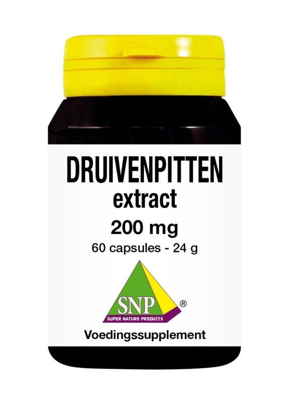 SNP SNP Druivenpitten extract 200 mg (60 capsules)