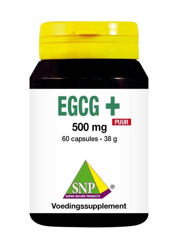 SNP SNP EGCG+ puur (60 capsules)