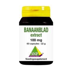 SNP Banaanblad extract (60 capsules)
