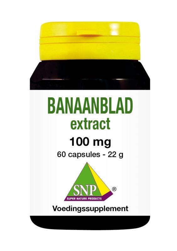 SNP SNP Banaanblad extract (60 capsules)
