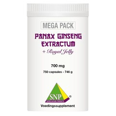 SNP Panax ginseng extract megapack (750 capsules)