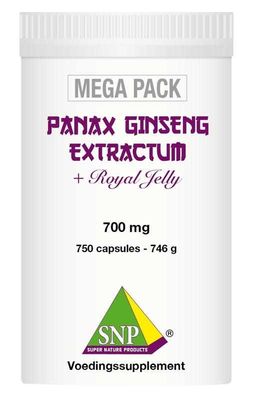 SNP SNP Panax ginseng extract megapack (750 capsules)