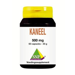 SNP Kaneel 500 mg (60 capsules)