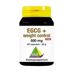 SNP EGCG+ Weight control puur (60 capsules)