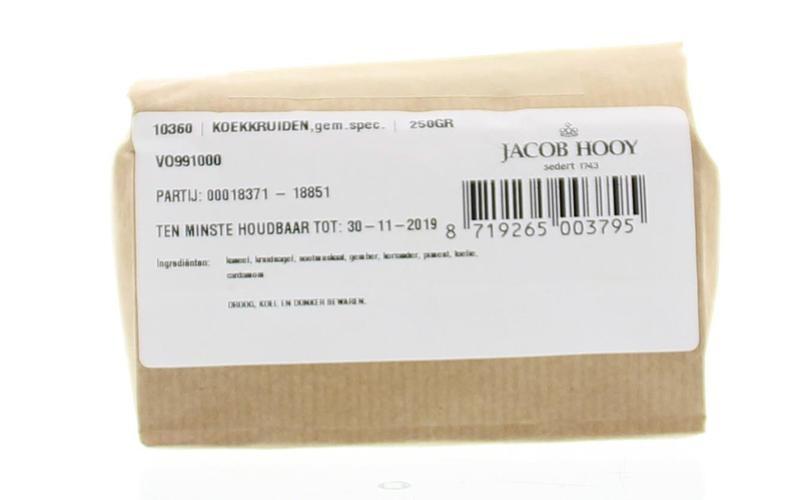 Jacob Hooy Jacob Hooy Koekkruiden (250 gram)