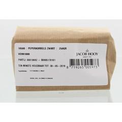 Jacob Hooy Peperkorrels zwart (250 gram)