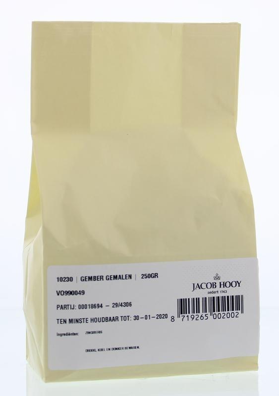 Jacob Hooy Jacob Hooy Gember gemalen (250 gram)
