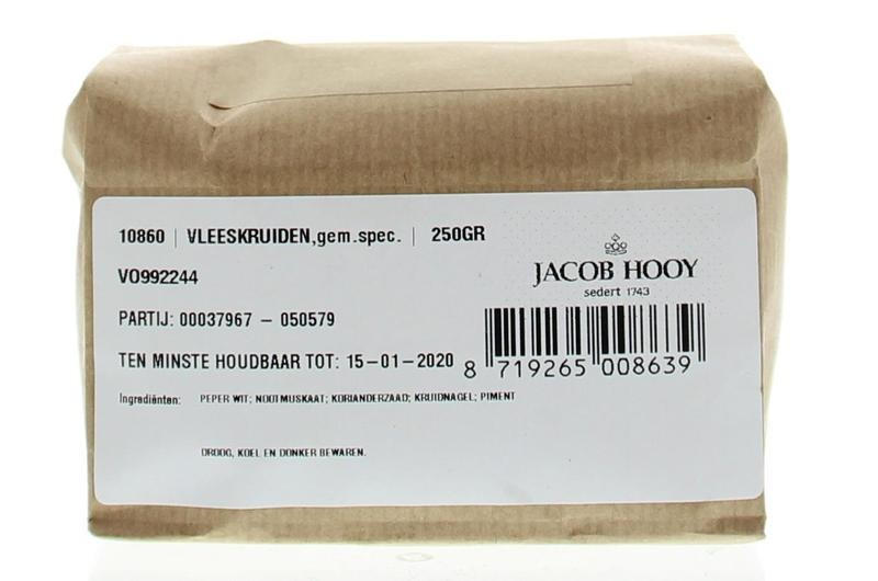 Jacob Hooy Jacob Hooy Vleeskruiden (250 gram)