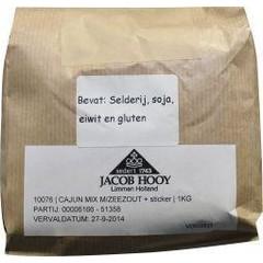 Jacob Hooy Cajun mix met zeezout (1 kilogram)