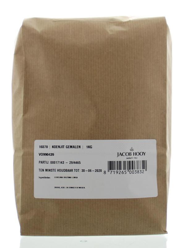 Jacob Hooy Jacob Hooy Koenjit / Curcuma rhiz long gemalen (1 kilogram)