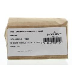 Jacob Hooy Cayennepeper gemalen (250 gram)