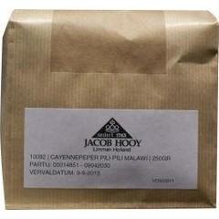 Jacob Hooy Cayennepeper pili pili (250 gram)