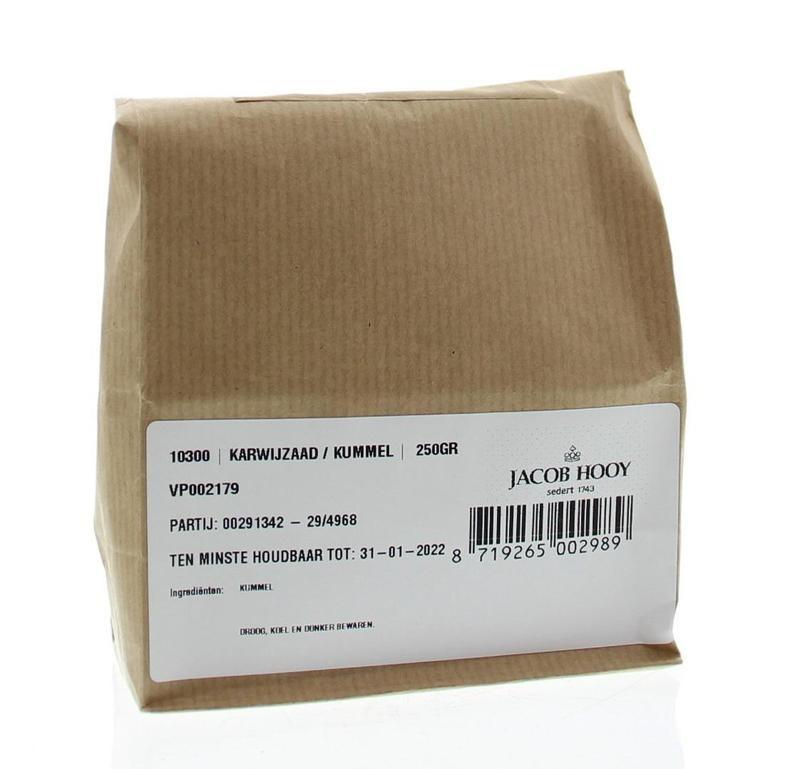 Jacob Hooy Jacob Hooy Karwijzaad / kummel (250 gram)