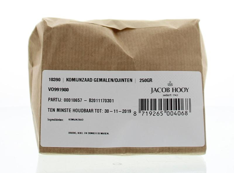 Jacob Hooy Jacob Hooy Komijnzaad gemalen / djinten (250 gram)