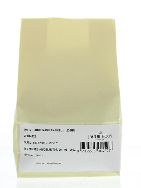 Jacob Hooy Jacob Hooy Kruidnagelen heel (250 gram)