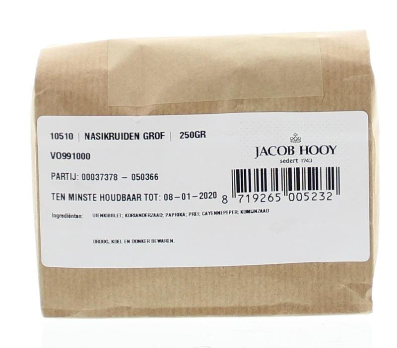 Jacob Hooy Jacob Hooy Nasikruiden grof (250 gram)