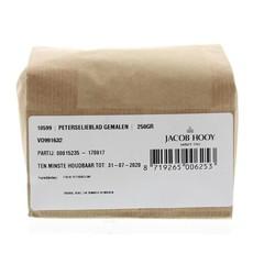 Jacob Hooy Peterselieblad gemalen (250 gram)