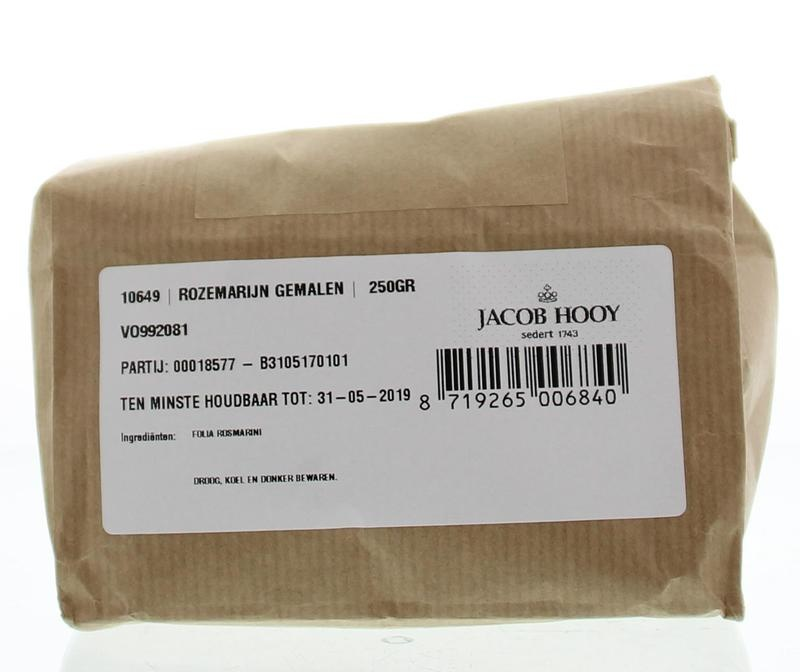 Jacob Hooy Jacob Hooy Rozemarijn gemalen (250 gram)