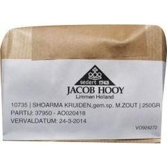 Jacob Hooy Shoarmakruiden (250 gram)