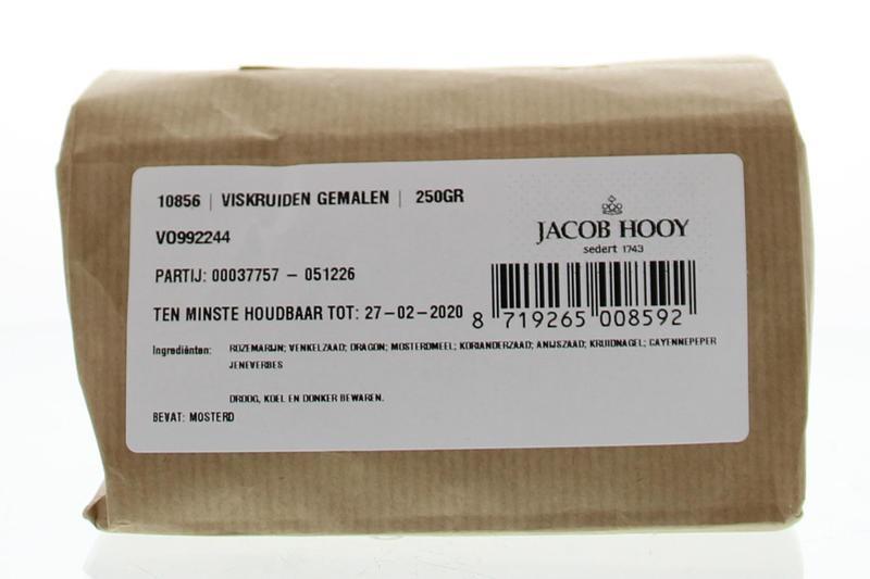 Jacob Hooy Jacob Hooy Viskruiden gemalen (250 gram)