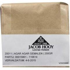 Jacob Hooy Agar agar gemalen (250 gram)
