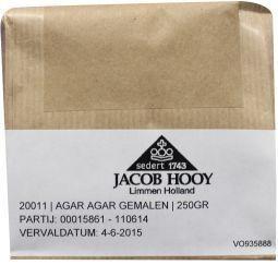Jacob Hooy Jacob Hooy Agar agar gemalen (250 gram)