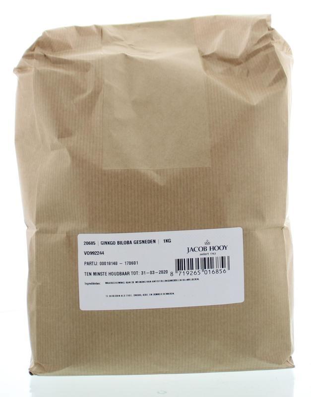 Jacob Hooy Jacob Hooy Ginkgo biloba gesneden (1 kilogram)