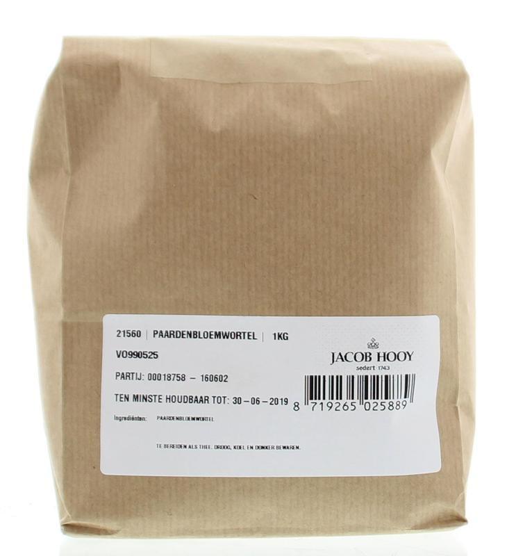 Jacob Hooy Jacob Hooy Paardebloemwortel (1 kilogram)