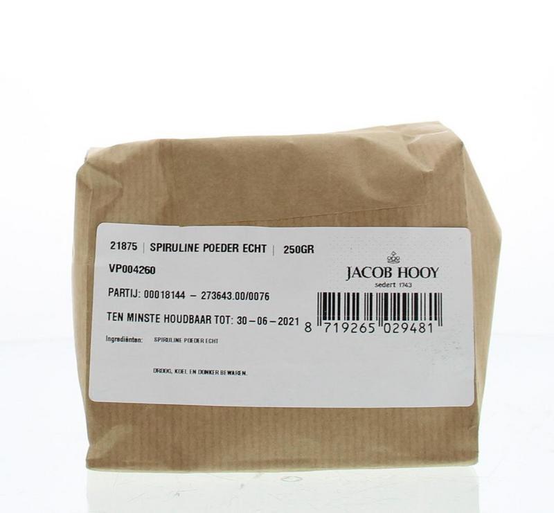 Jacob Hooy Jacob Hooy Spirulina poeder (250 gram)