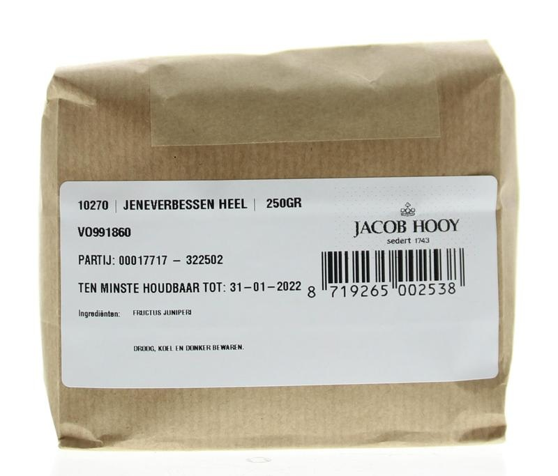 Jacob Hooy Jacob Hooy Jeneverbessen normale kwaliteit (250 gram)