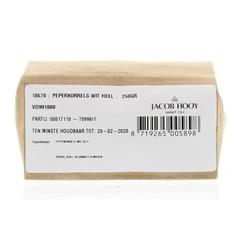Jacob Hooy Peperkorrels wit heel (250 gram)