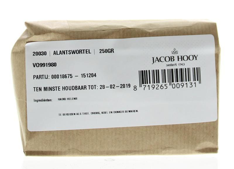 Jacob Hooy Jacob Hooy Alantswortel (250 gram)