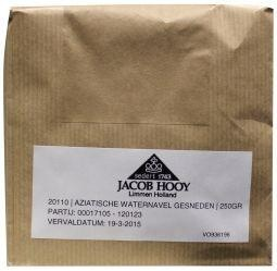 Jacob Hooy Jacob Hooy Aziatische waternavel gesneden (250 gram)