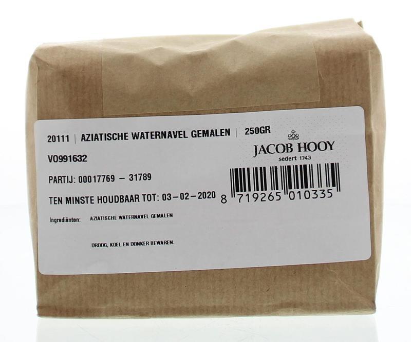 Jacob Hooy Jacob Hooy Aziatische waternavel gemalen (250 gram)