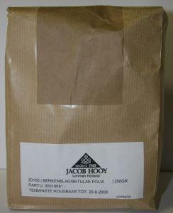 Jacob Hooy Jacob Hooy Berkenblad (250 gram)