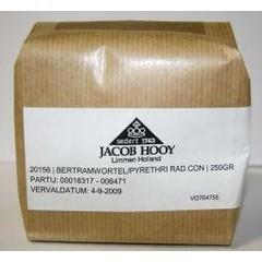 Jacob Hooy Bertramwortel gesneden (250 gram)