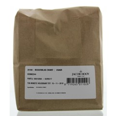 Jacob Hooy Bessenblad zwart (250 gram)