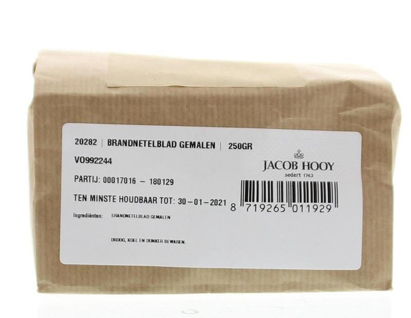 Jacob Hooy Jacob Hooy Brandnetel gemalen (250 gram)