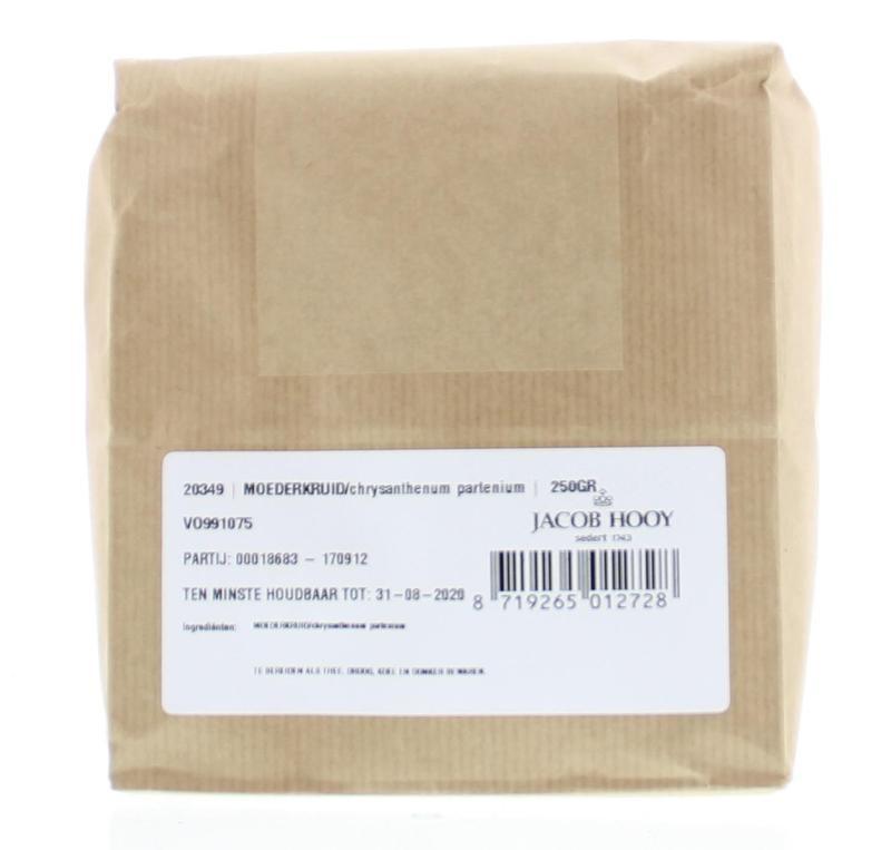Jacob Hooy Jacob Hooy Moederkruid chrysantenum (250 gram)