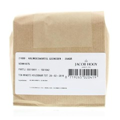Jacob Hooy Kalmoeswortel ongeschild gesneden (250 gram)