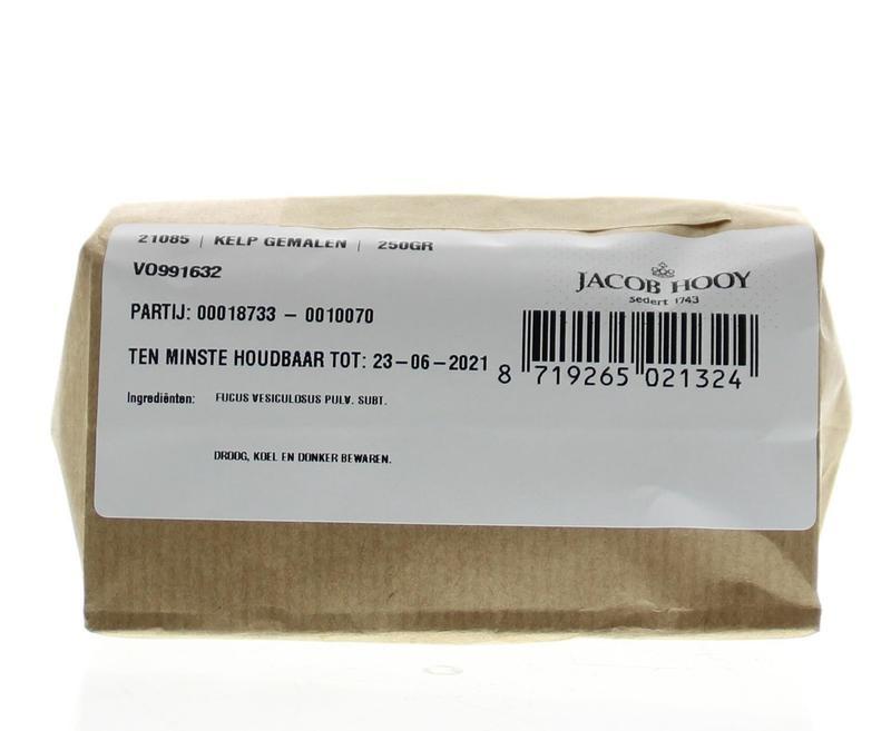 Jacob Hooy Jacob Hooy Kelp gemalen (250 gram)