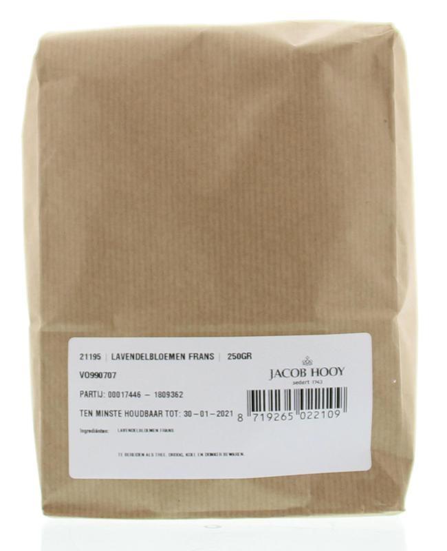 Jacob Hooy Jacob Hooy Lavendelbloemen (250 gram)