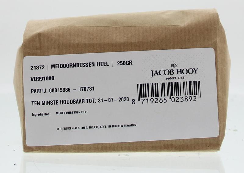 Jacob Hooy Jacob Hooy Meidoornbessen (250 gram)
