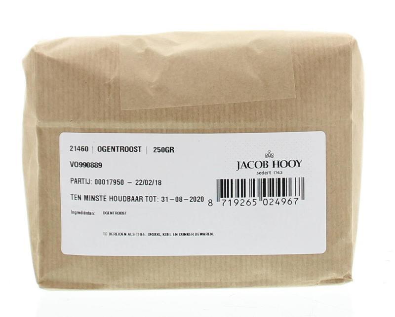 Jacob Hooy Jacob Hooy Ogentroost (euphrasia) (250 gram)