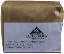 Jacob Hooy Jacob Hooy Pau de arco gemalen (250 gram)