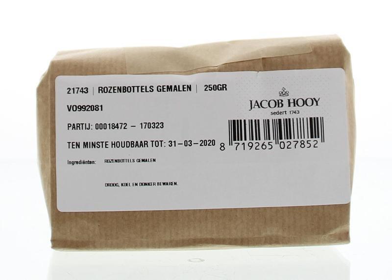 Jacob Hooy Jacob Hooy Rozenbottels gemalen (250 gram)